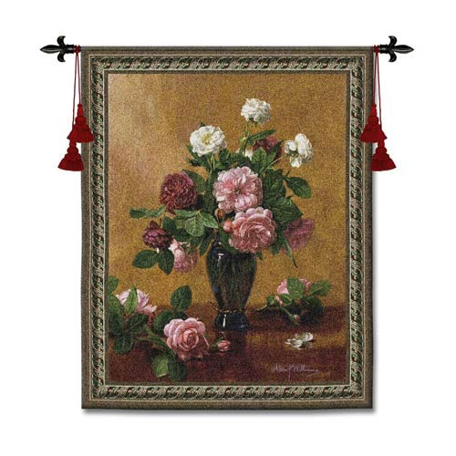 Cherished Bliss Woven Wall Tapestry