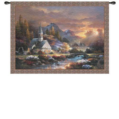 Morning Of Hope Wall Tapestry