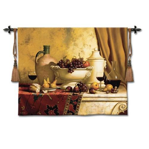 Italian Feast Woven Wall Tapestry