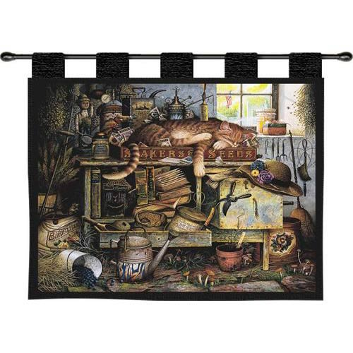 Pure Country Weavers Remington The Horticulturist Wall Tapestry