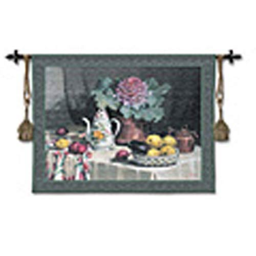 Still Life With Coffee Woven Wall Tapestry
