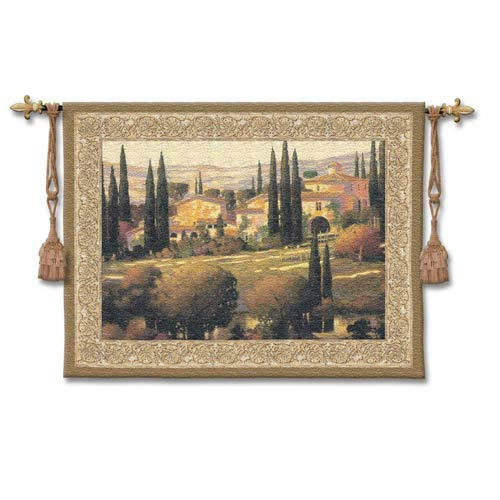 Tuscan Gold Woven Wall Tapestry