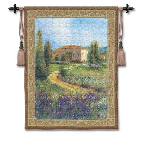 Morning In Spain Woven Wall Tapestry