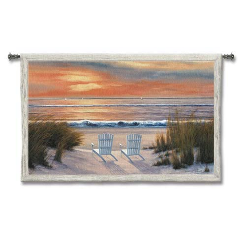 Paradise Sunset Woven Wall Tapestry