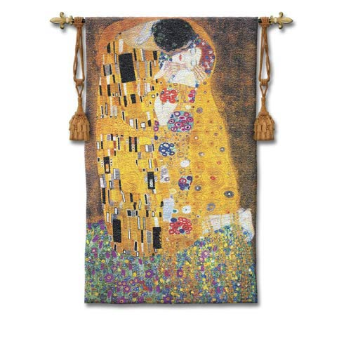 Pure Country Weavers Kiss Large Woven Wall Tapestry