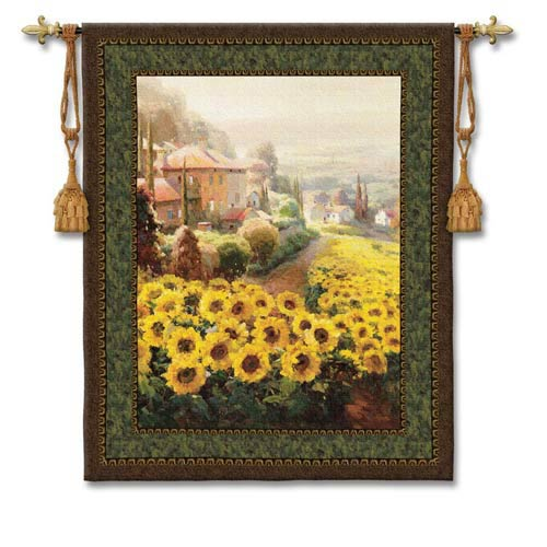 Fields Of Gold Woven Wall Tapestry