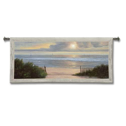 Summer Moments II Woven Wall Tapestry