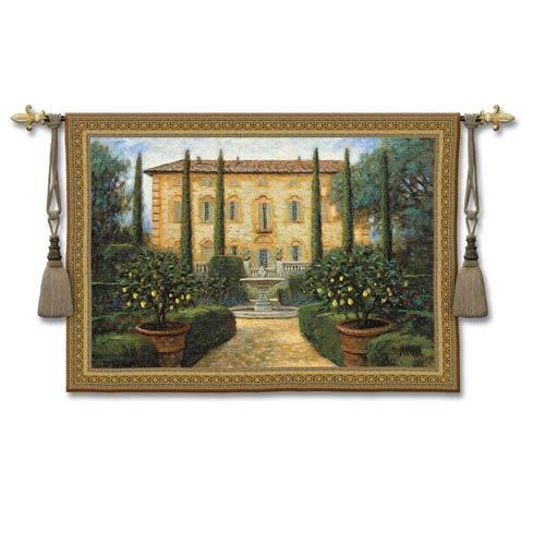 Italian Villa Woven Wall Tapestry
