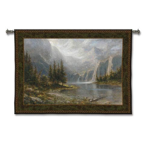 Mountain Heights Woven Wall Tapestry