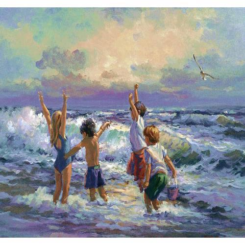 Surf Dancers Tapestry Wall Hanging