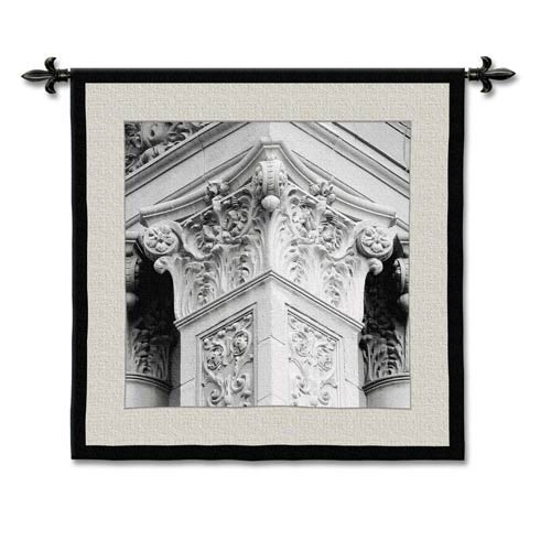Architectural Detail IV Woven Wall Tapestry