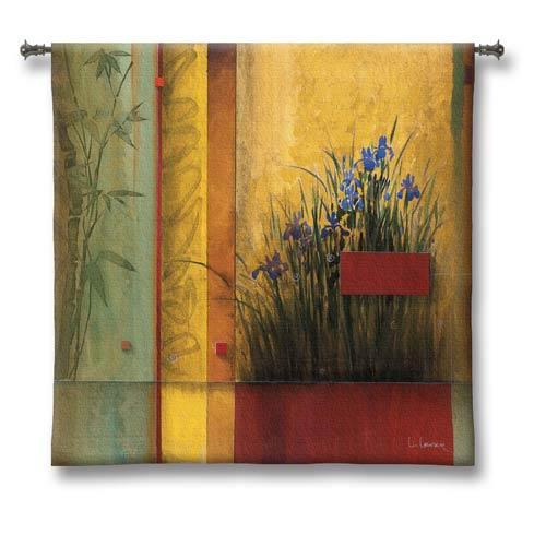 Terrazzo Garden Small Woven Wall Tapestry