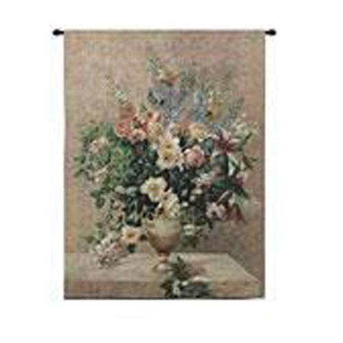 Morning Blossoms Tapestry Wall Hanging