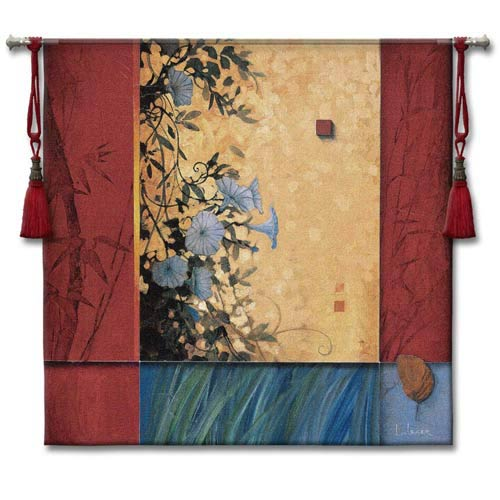 Artists Garden Large Woven Wall Tapestry