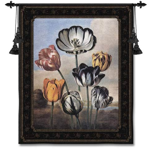 Temple Of Flora Large Woven Wall Tapestry