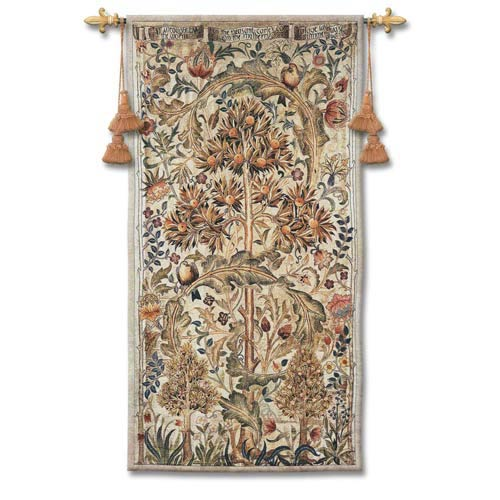 Summer Quince Woven Wall Tapestry