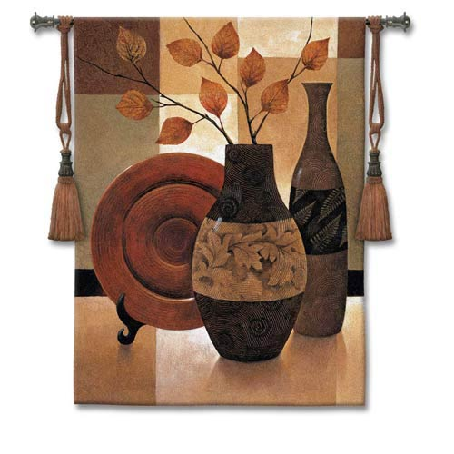 Natures Patchwork I Woven Wall Tapestry