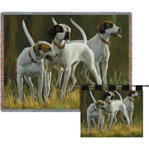 Pure Country Weavers First Light Hounds Wall Tapestry