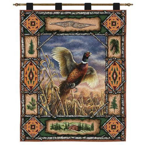 Pheasant Lodge Wall Tapestry