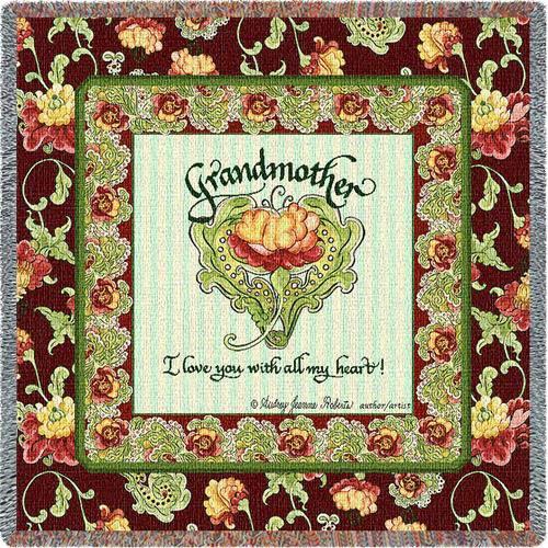 Grandmothers Heart Lap Square