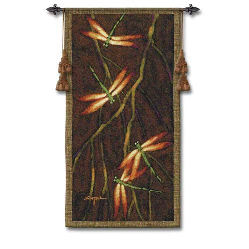 Pure Country Weavers October Song II Woven Wall Tapestry