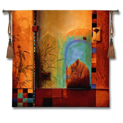 Garden Ensemble Woven Wall Tapestry