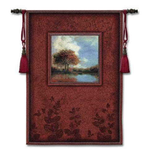 Waters Mist Woven Wall Tapestry