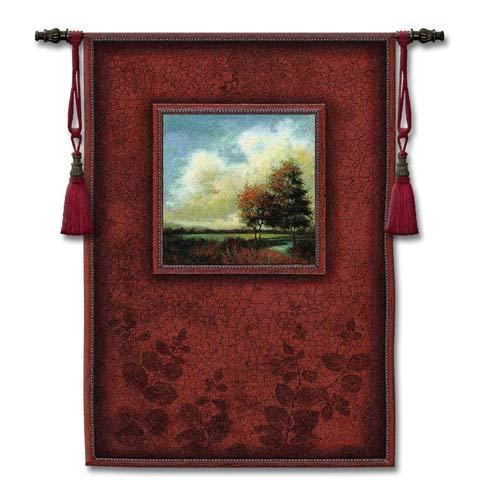 River Sunrise Woven Wall Tapestry