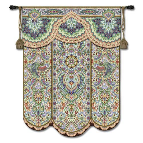 Paradise Garden Woven Wall Tapestry