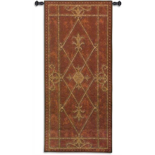 Edinburgh Scroll Woven Wall Tapestry