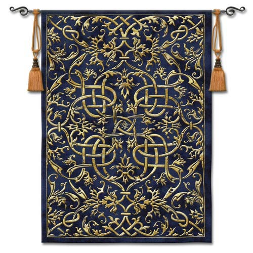 Porte Azur Woven Wall Tapestry
