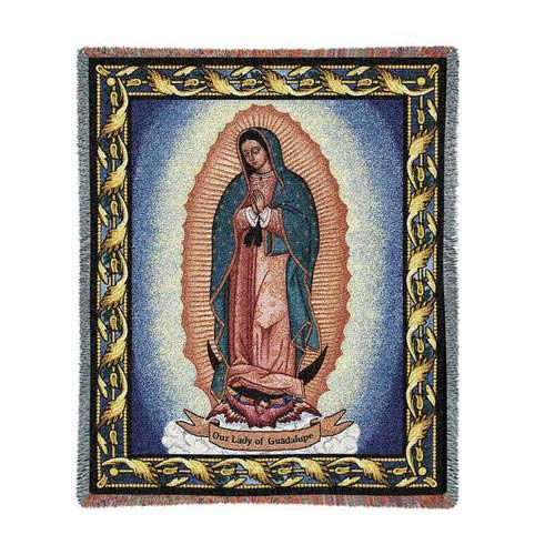 Our Lady of Guadalupe Throw