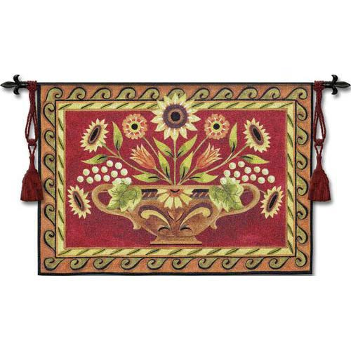 Provence Floral Tapestry Wall Hanging
