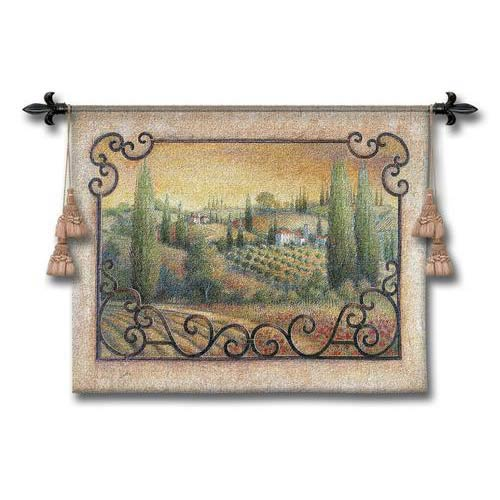 Visions Of Tuscany Wall Tapestry