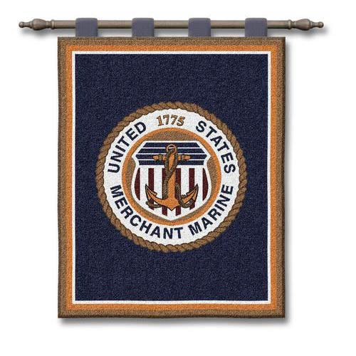Merchant Marine Wall Tapestry