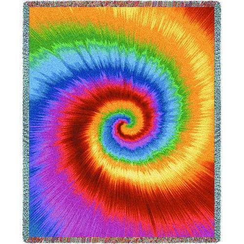 Tie Dye Throw