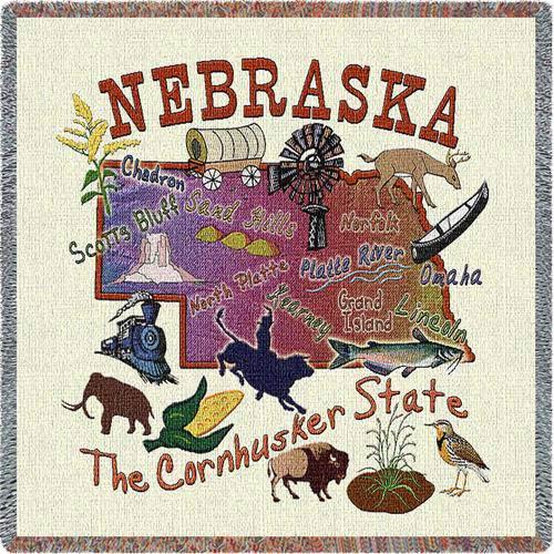 Nebraska State Lap Square