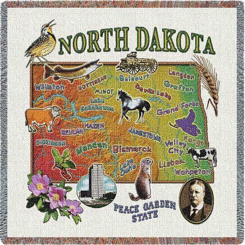 North Dakota State Lap Square