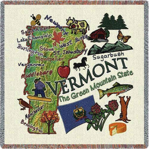 Vermont State Lap Square