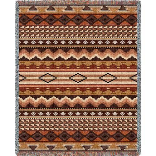 Pure Country Weavers Southwest Sampler Clay Throw