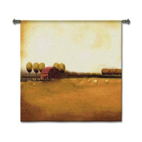 Rural Landscape Woven Wall Tapestry