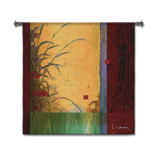 Dancing In The Wind Woven Wall Tapestry