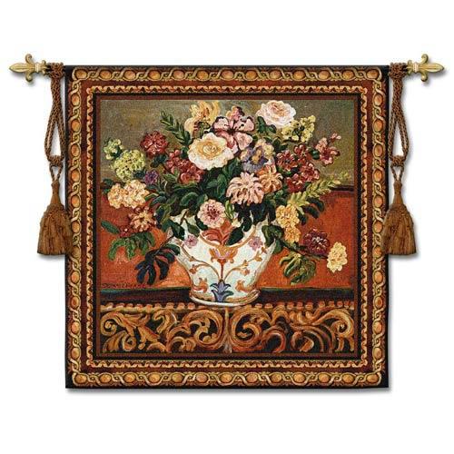 Genas Vase Woven Wall Tapestry