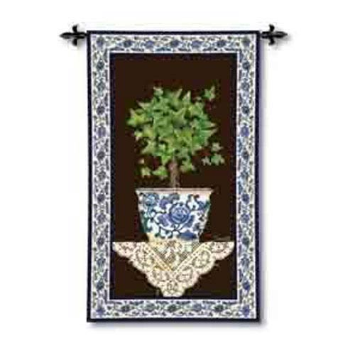 Ivy Topiary I Tapestry Wall Hanging