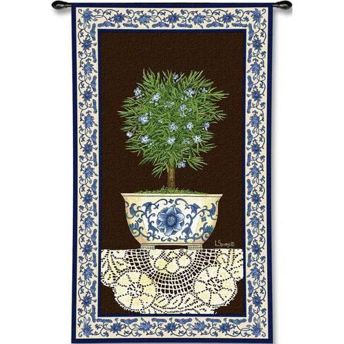 Ivy Topiary II Tapestry Wall Hanging