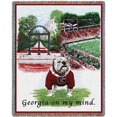 Univ of Georgia On My Mind Throw