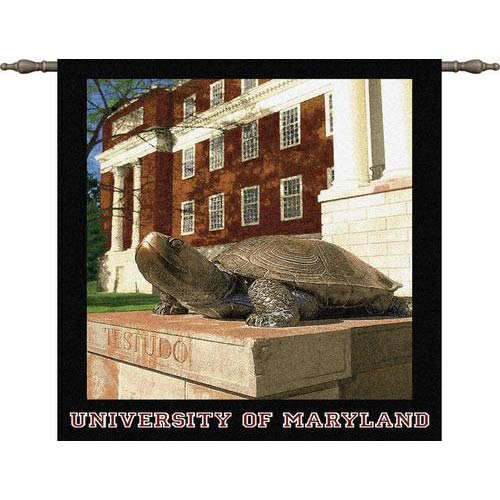 University of Maryland Testudo Wall Tapestry