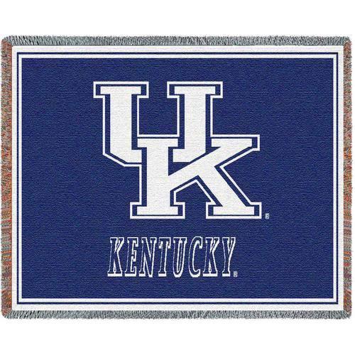 Univ of Kentucky Initials Throw