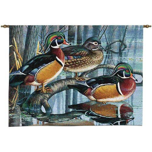 Backwater Woodies Wall Tapestry