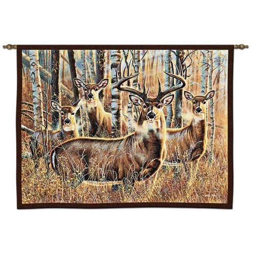Sudden Encounter Wall Tapestry